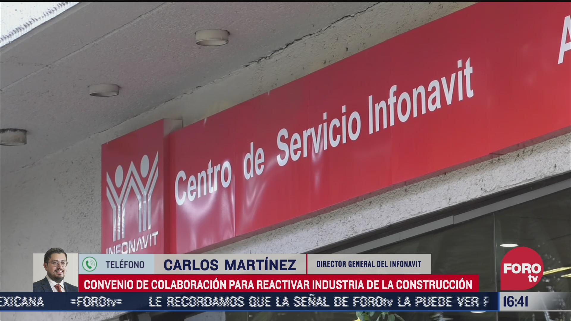 infonavit firma convenio con gobierno de cdmx para reactivar la construccion