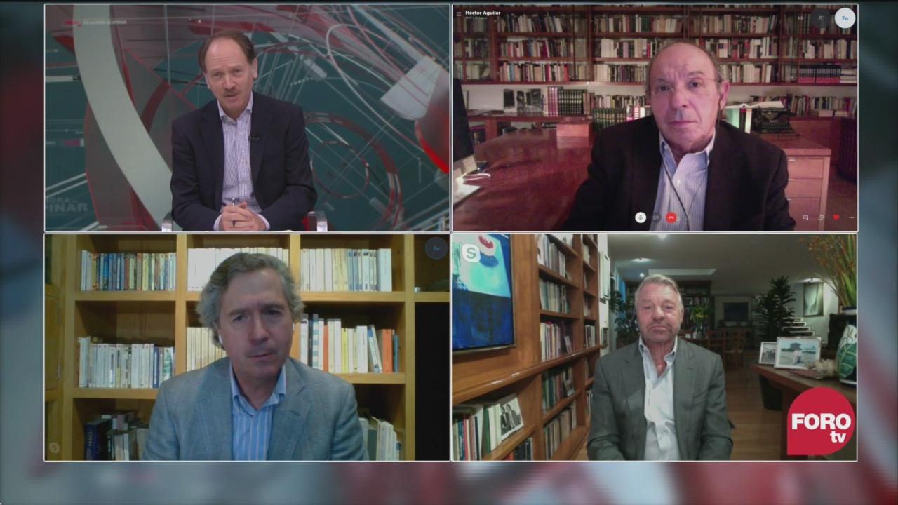 Javier Tello, Héctor Aguilar Camín, Jorge Castañeda y Luis de la Calle analizan la detencion de cesar duarte exgobernador de chihuahua