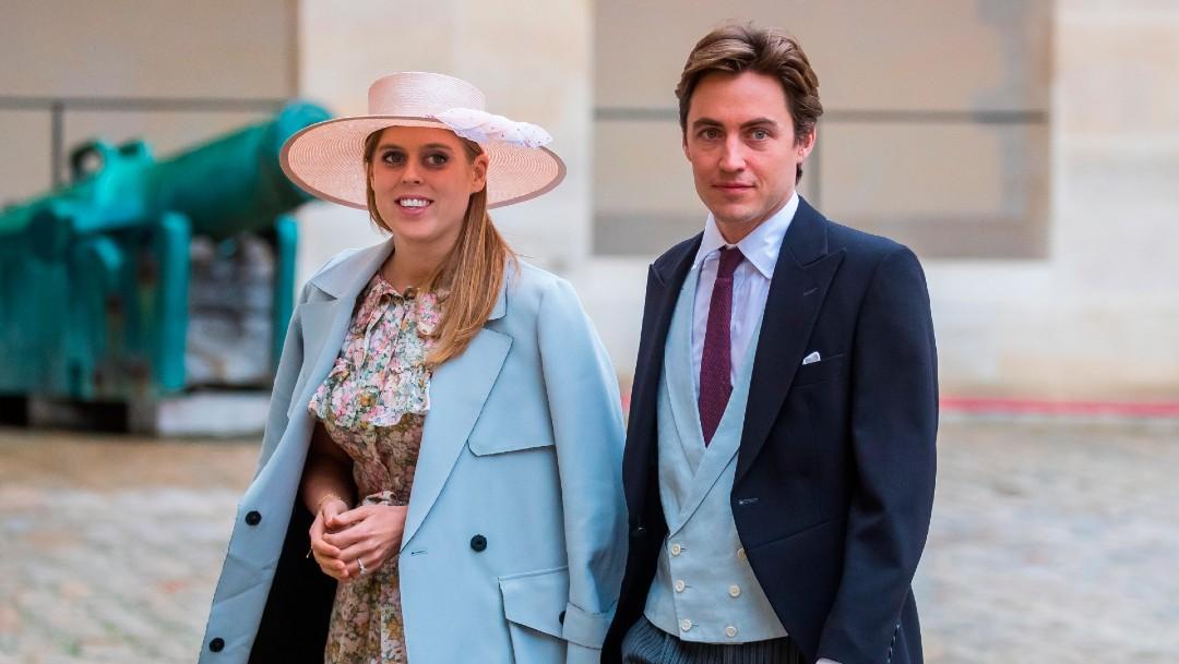 La princesa Beatriz de Gran Bretaña y su novio Edoardo MapelliLa princesa Beatriz de Gran Bretaña y su novio Edoardo Mapelli Mozzi Mozzi