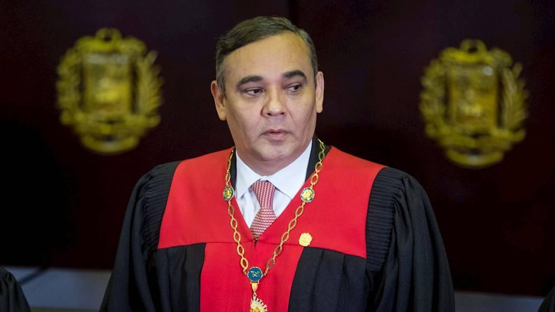 La justicia de Estados Unidos acusa a Maikel Moreno, presidente del Tribunal Supremo de Justicia de Venezuela, de estar coludido en actos de corrupción
