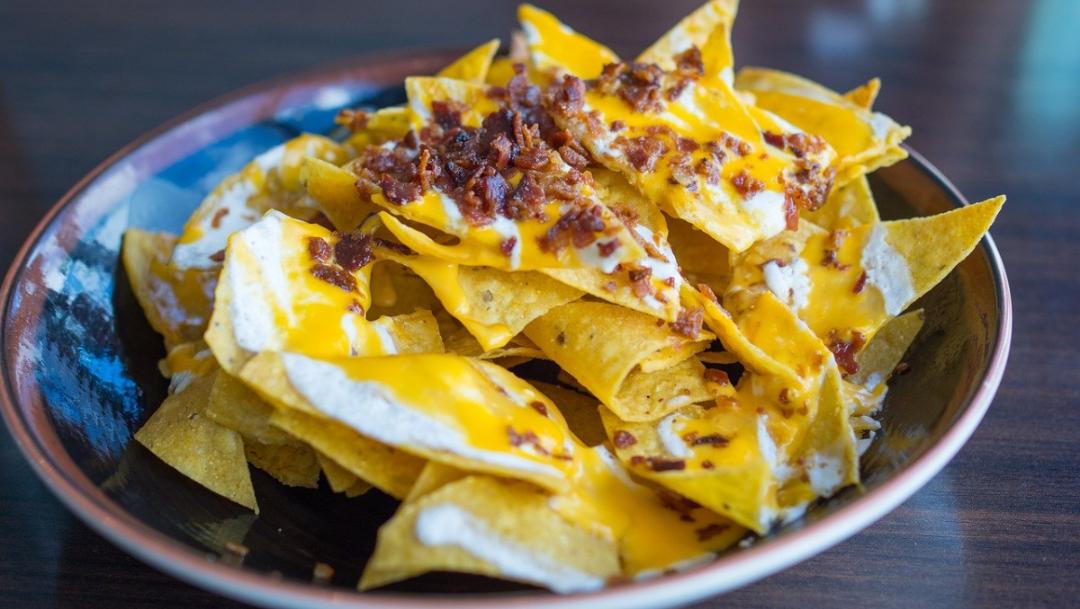 tortillas usadas como nachos