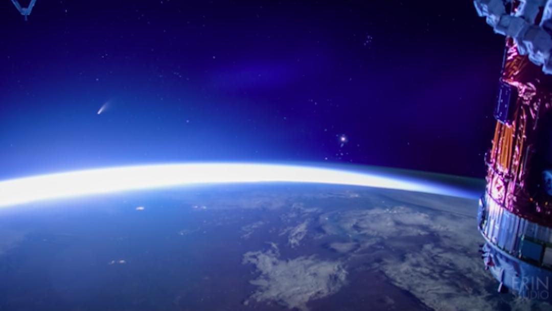 NASA revela video del cometa Neowise