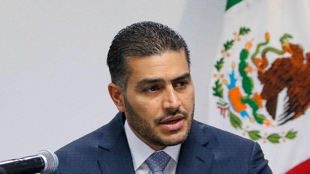 Omar García Harfuch, secretario Seguridad CDMX