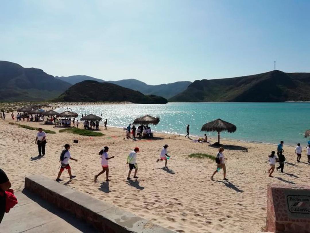 Las playas de La Paz, Baja California Sur, volvieron a cerrar por coronavirus