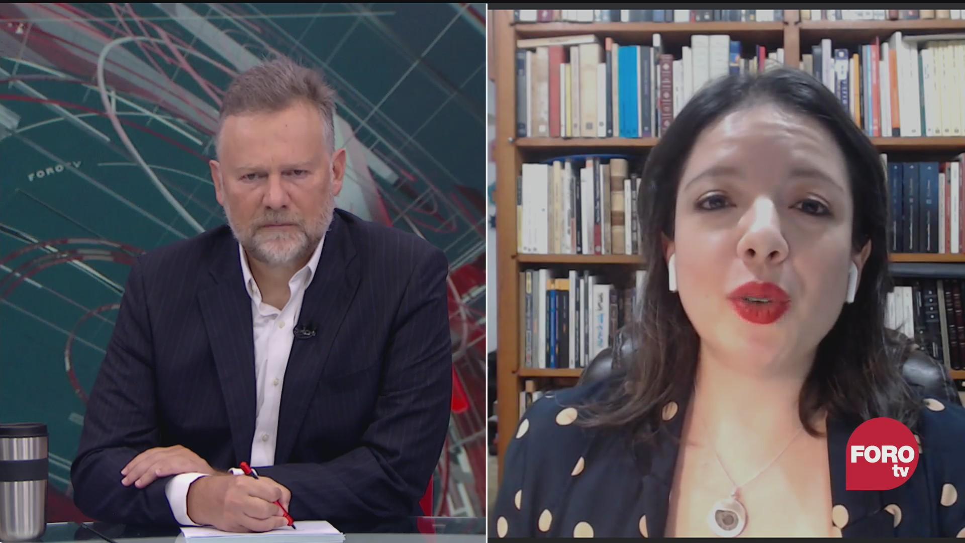 Leo Zuckermann platica con Irene Tello sobre las reformas a la prisión prevwntiva oficiosa