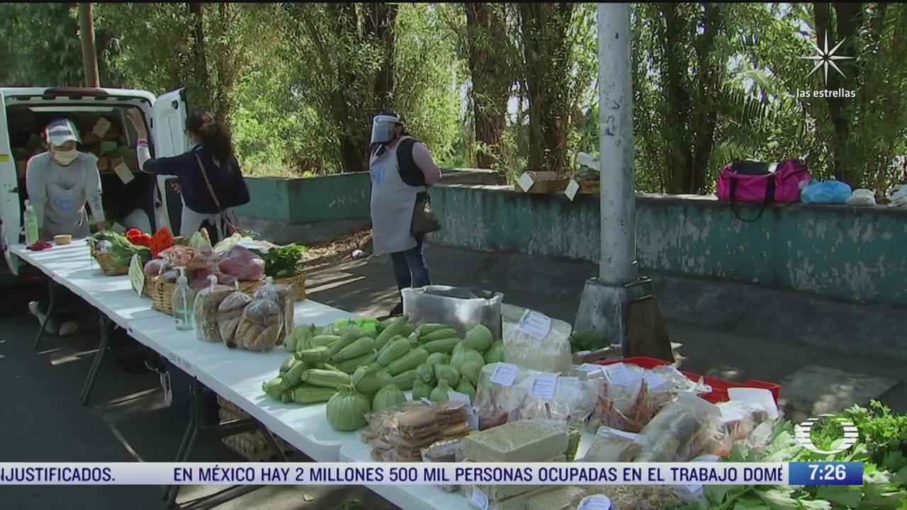 productores de xochimilco buscan alternativas para vender sus productos