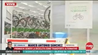 promueve semovi la bicicleta como transporte alternativo en cdmx
