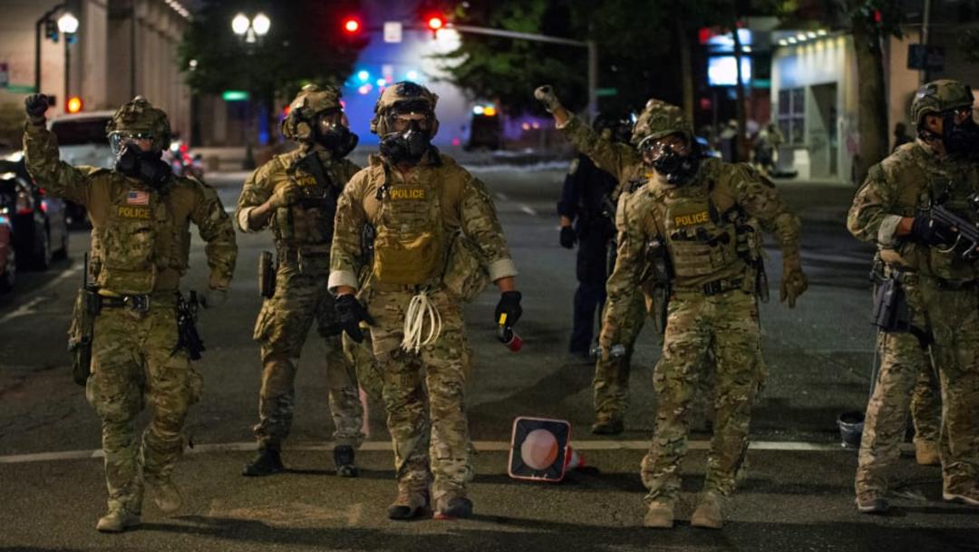 La Policía dispersó a algunos manifestantes. (Foto: Reuters)