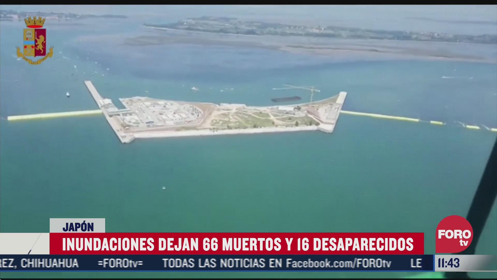 prueba con exito barreras anti inundacion en venecia italia