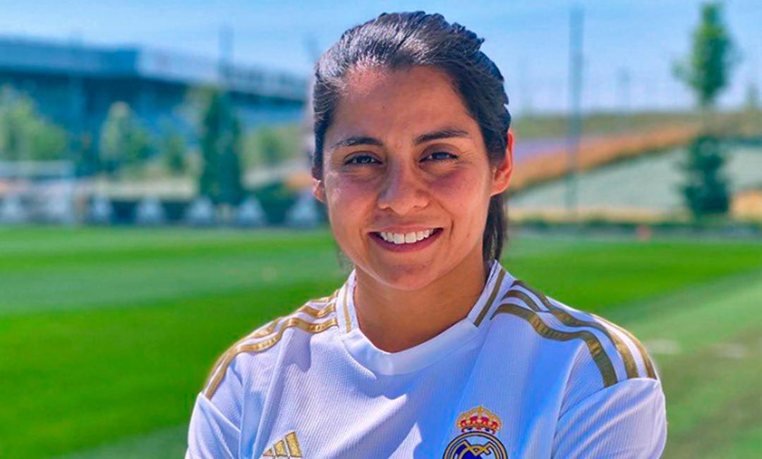 Kenti Robles se convirtió en jugadora del Real Madrid
