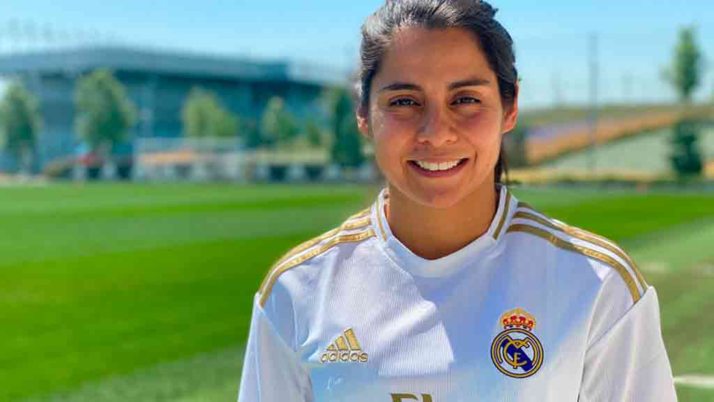 Kenti Robles, primera futbolista mexicana en el Real Madrid
