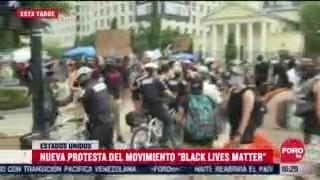 FOTO: 4 de julio 2020, se registra nueva protestas del movimiento black lives matter en washington