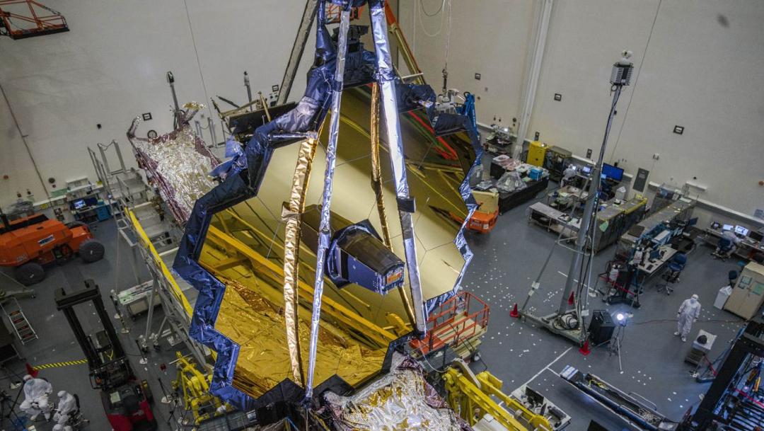 NASA pospone lanzamiento del del telescopio espacial James Webb.