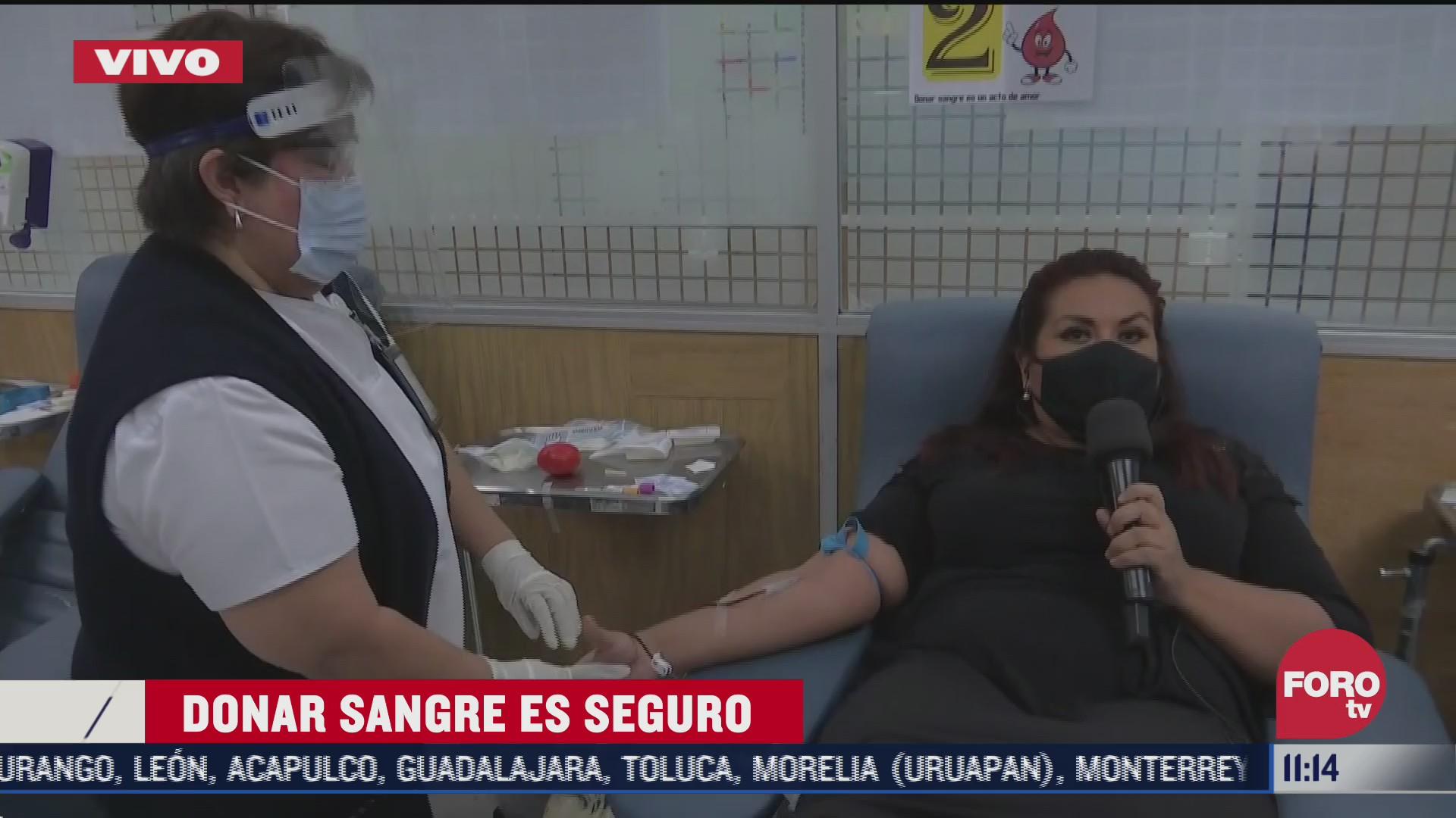 urgen a donar sangre en hospitales de la cdmx