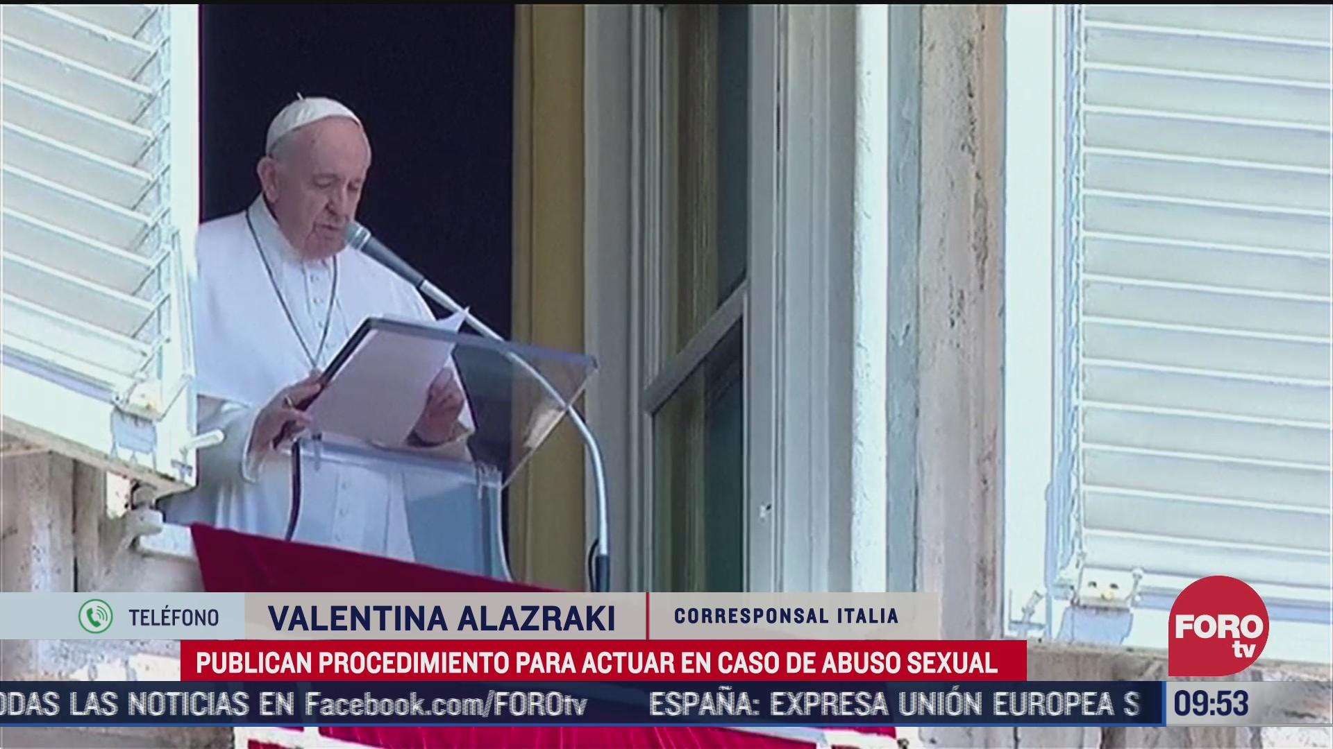 FOTO: 18 de julio 2020, vaticano publica el vademecum para combatir la pederastia eclesial