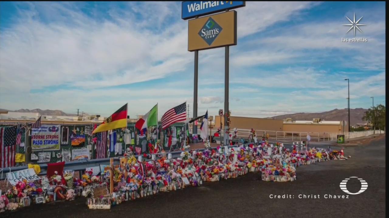 memorial a las víctimas de la masacre en walmart de el paso texas