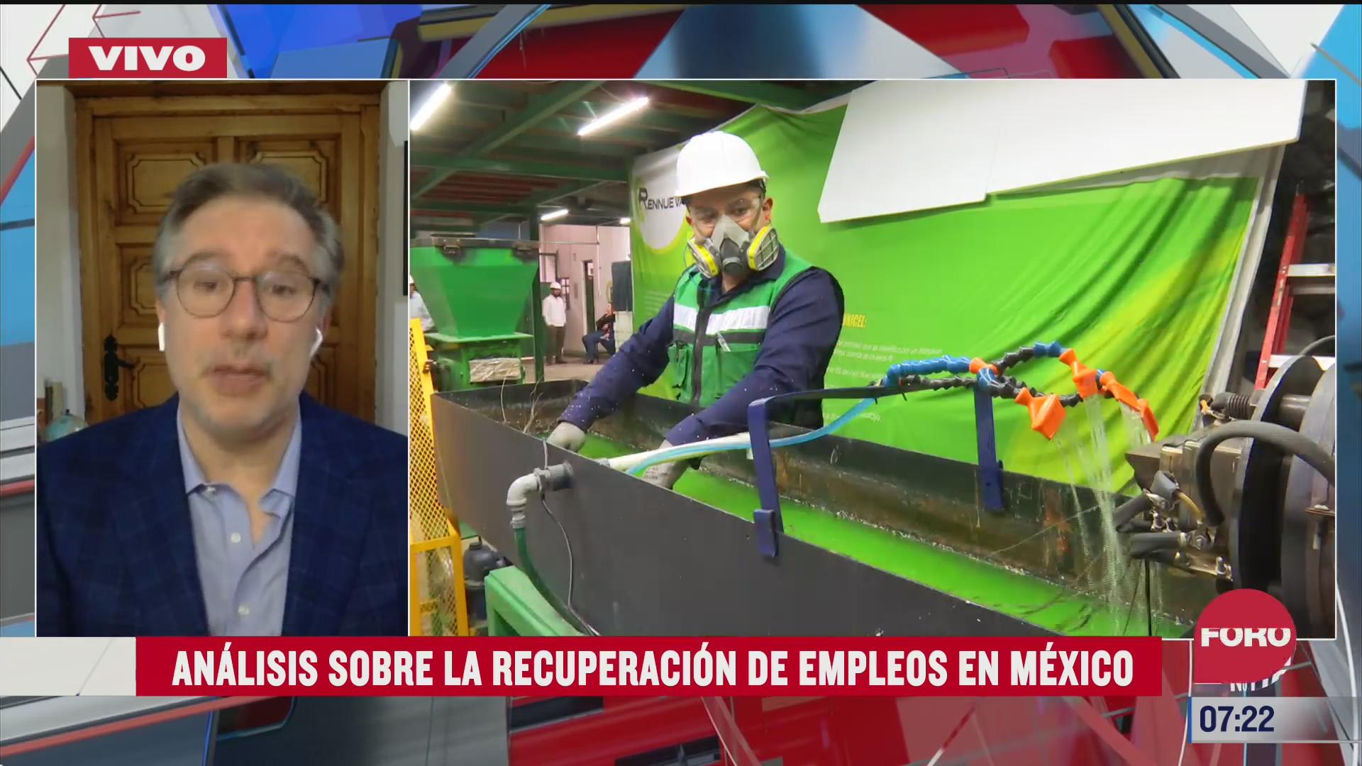 analisis sobre la recuperacion de empleos en mexico