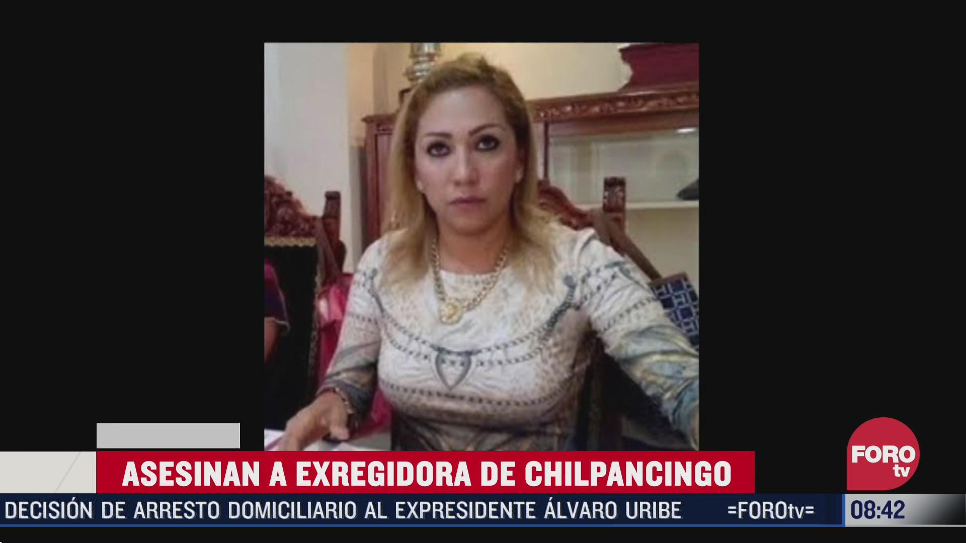FOTO: 8 de agosto 2020, asesinan a exregidora de chilpancingo guerrero