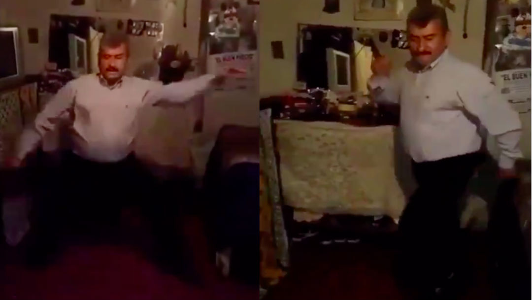 Video de hombre bailando se viraliza