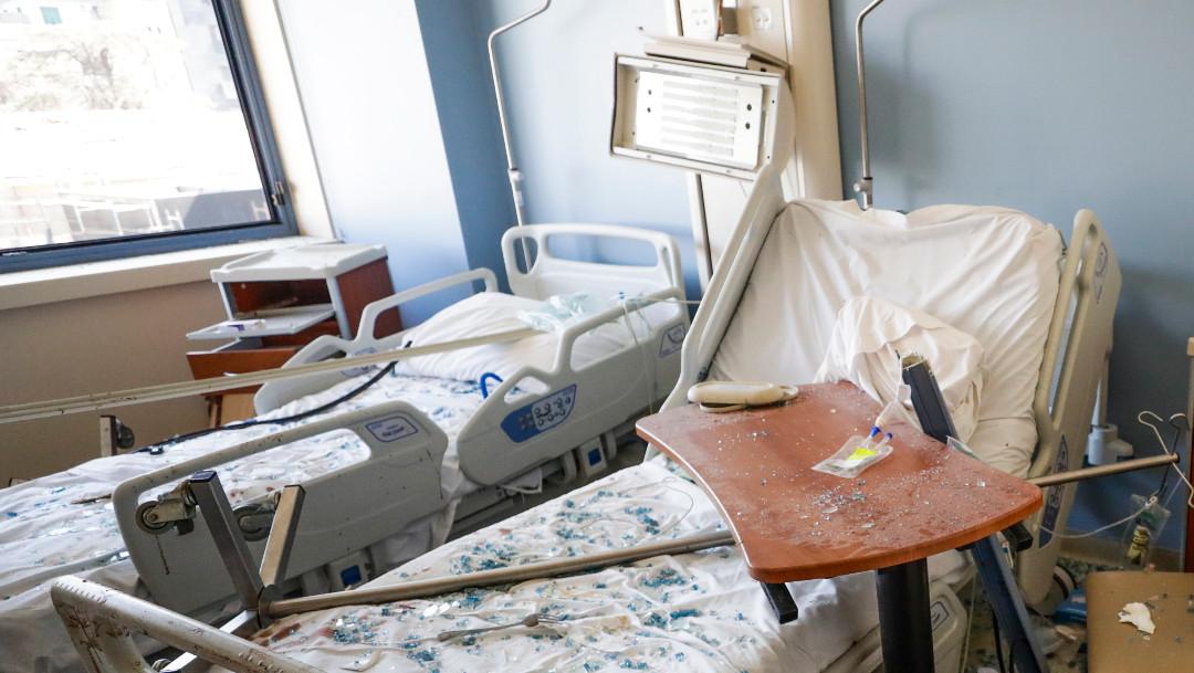 explosión, Beirut, enfermera