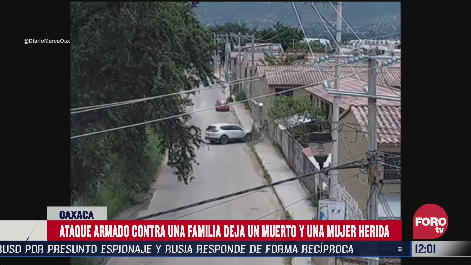 captan ataque armado contra una familia en oaxaca
