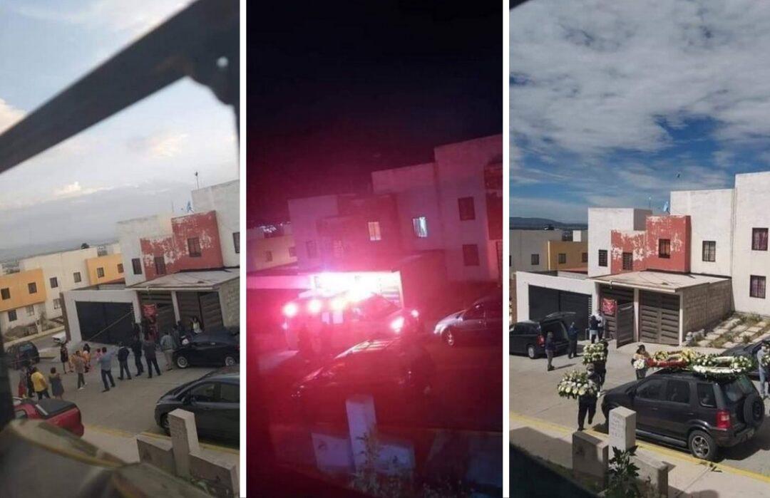 Covid-19 en 3 fotos: fiesta terminó en funeral en Monterrey
