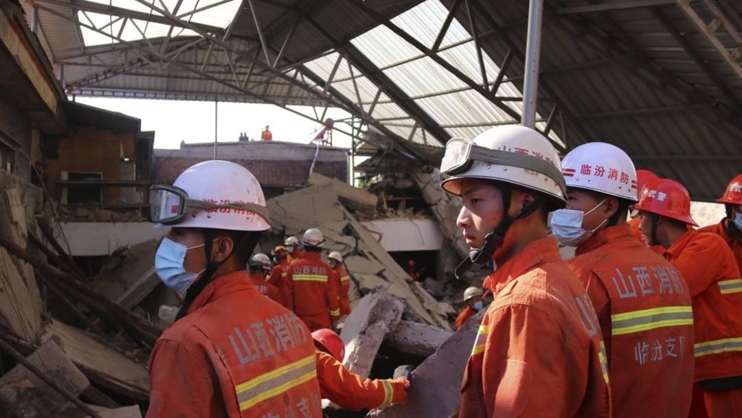 Al menos 17 muertos en derrumbe de restaurante al norte de China