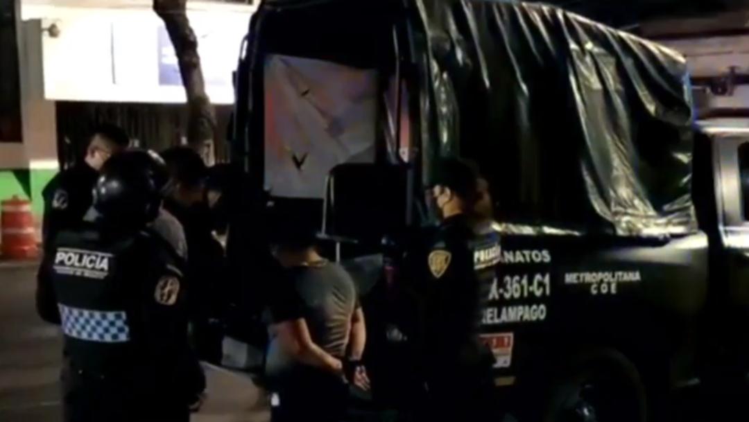 Detienen a banda de asaltantes de transporte público en Iztapalapa, CDMX