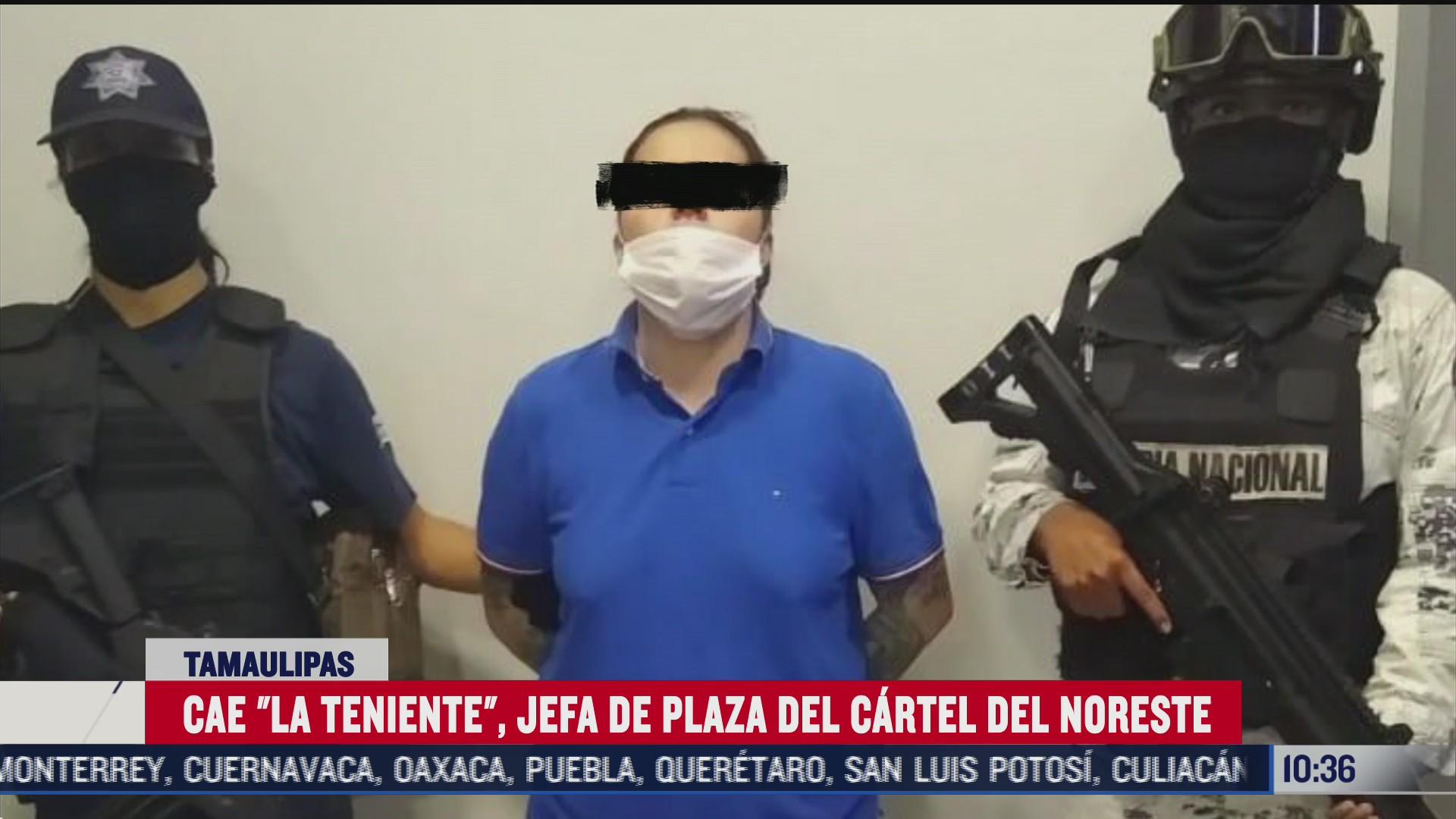 detienen a guadalupe n alias la teniente en tamaulipas