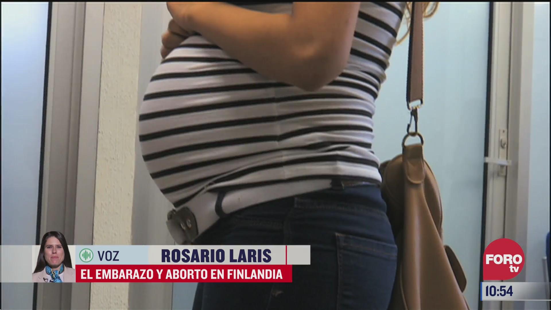 el embarazo y aborto en finlandia