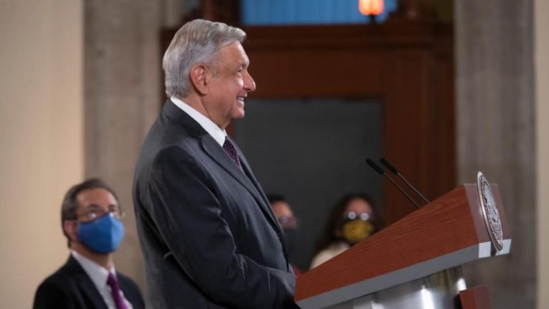 El presidente AMLO en conferencia de prensa