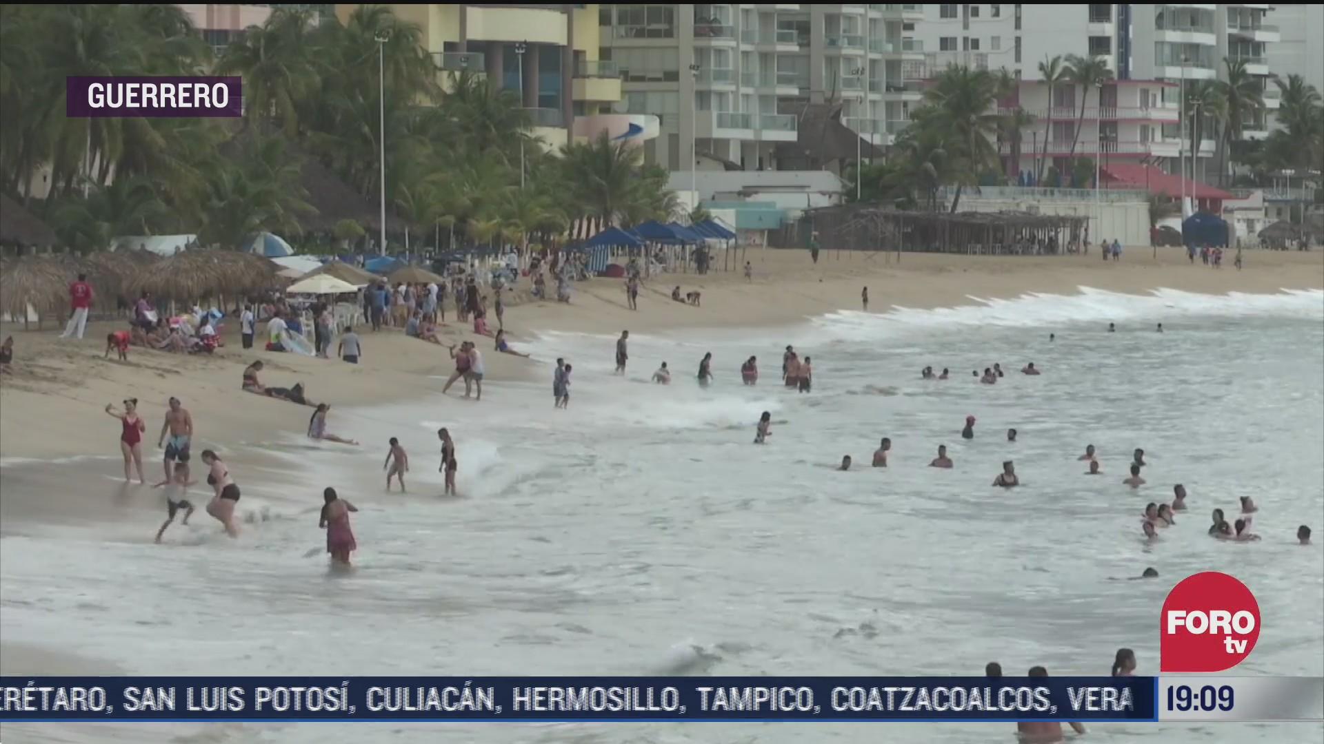 en acapulco guerrero se formo la tormenta tropical genieve