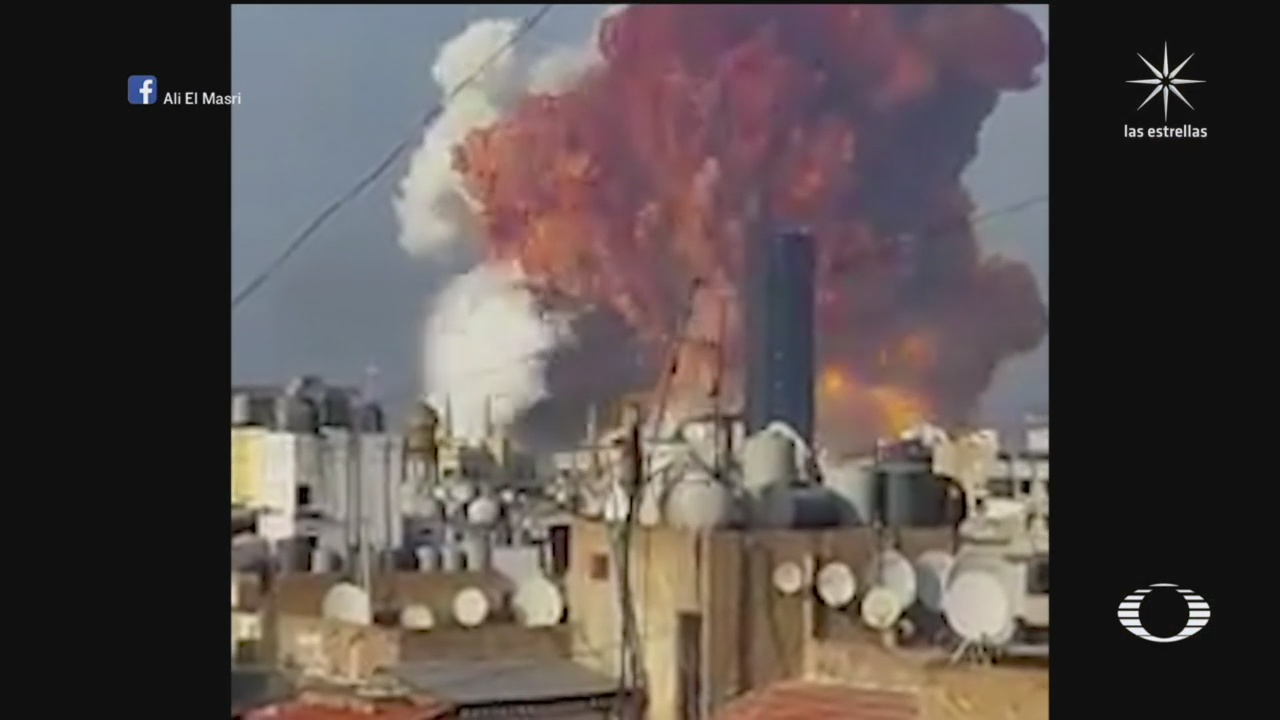 explosion en almacen de material explosivo en beirut libano deja 73 muertos