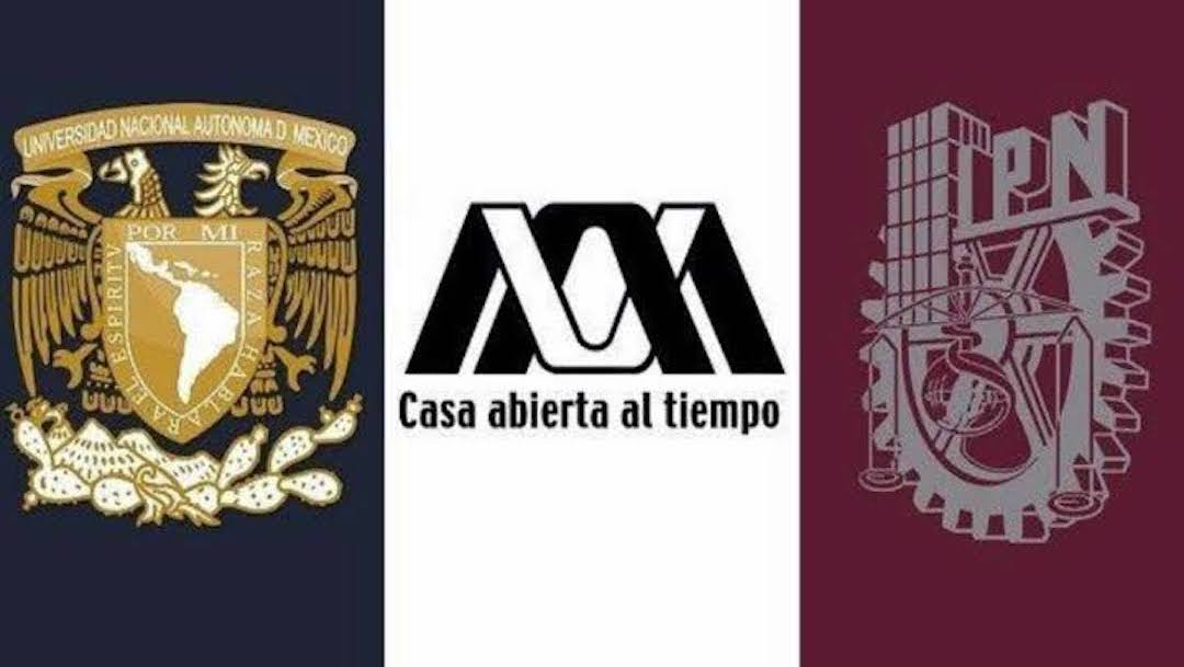 Escudos UNAM IPN UAM Imagen