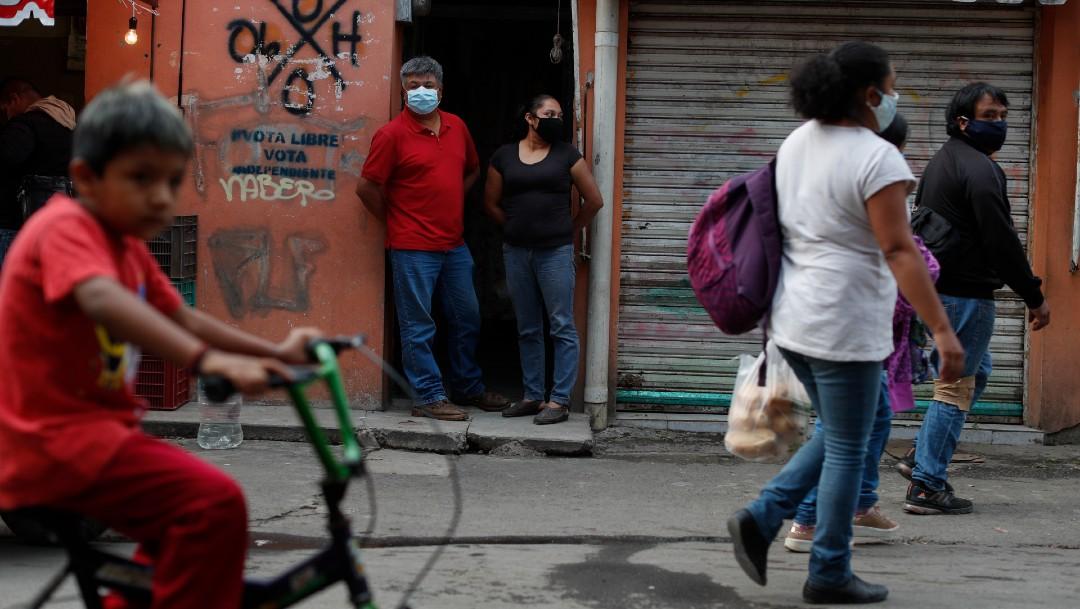 Habitantes de la alcaldía Xochimilco