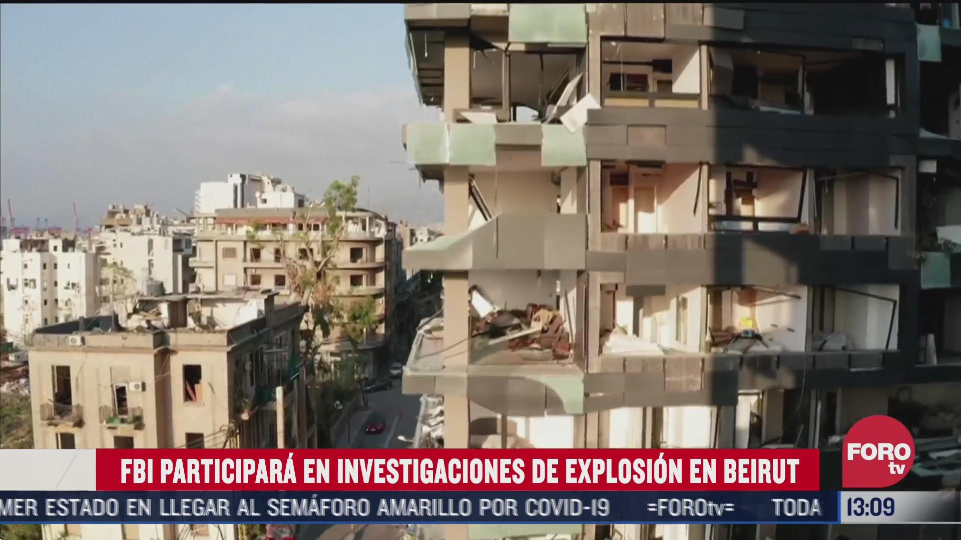 investigadores del fbi llegaran a libano