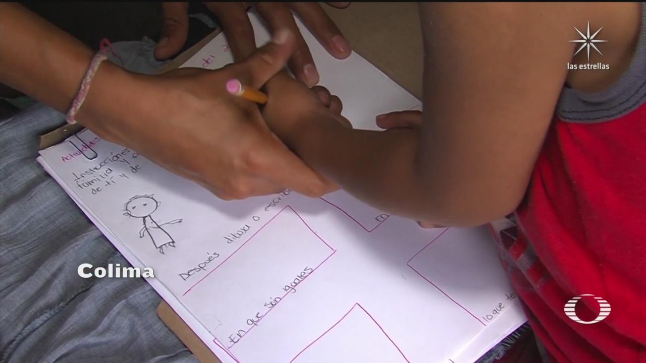 maestros llevaran materiales impresos a comunidades indigenas de colima