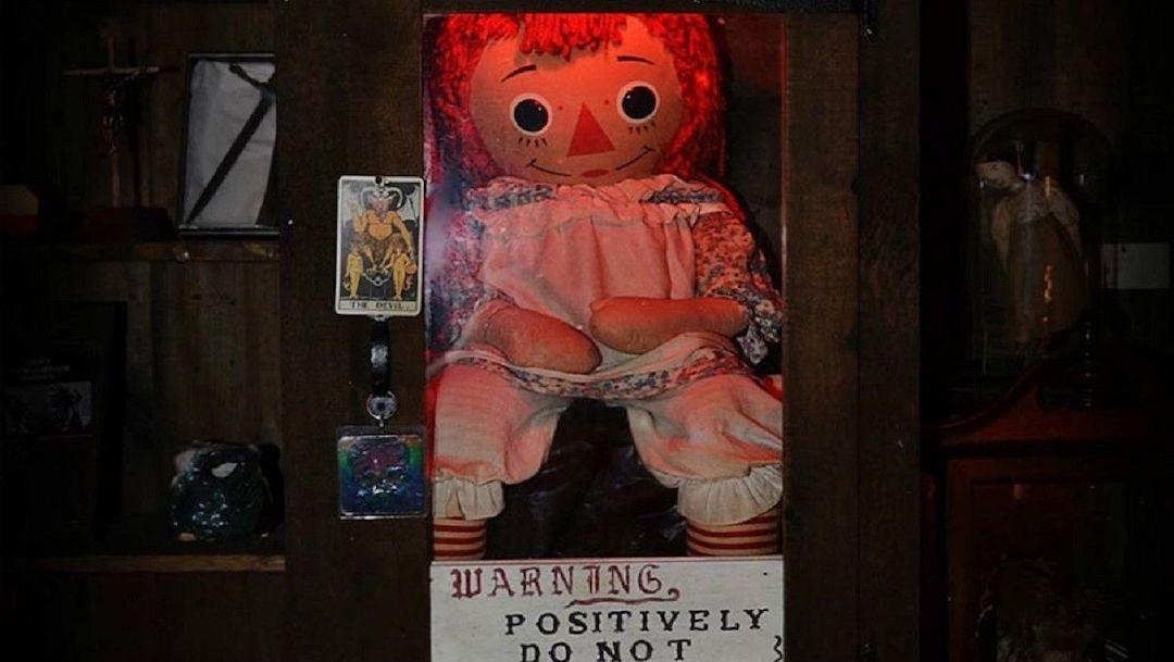Desaparece muñeca Annabelle