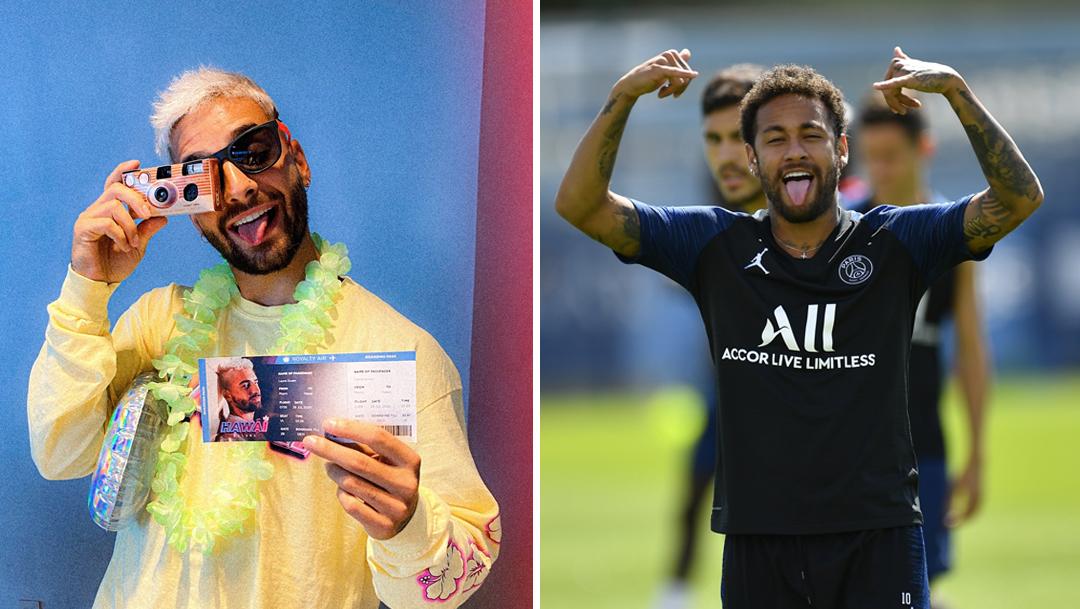 Maluma cierra Instagram tras burla de Neymar a su música
