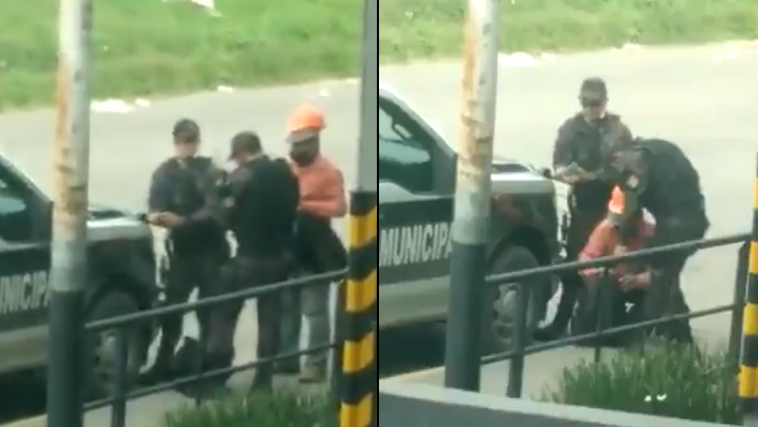 Policias roban a trabajador en tlaquepaque