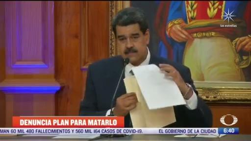 presidente nicolas maduro denuncia plan para matarlo