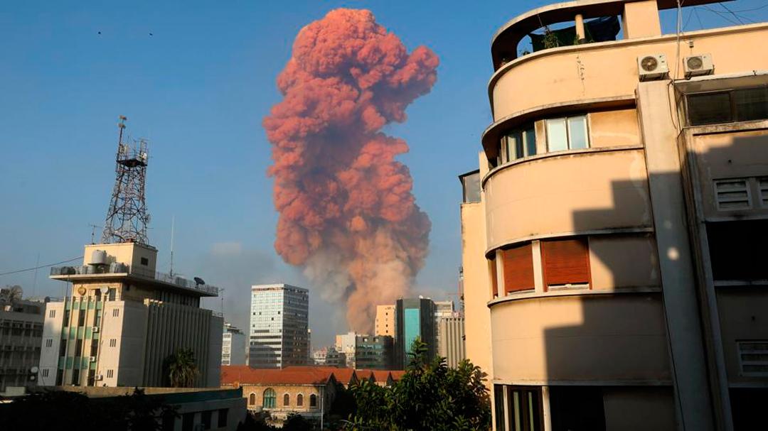 El nitrato de amonio provocó la explosión en Beirut y te decimos qué es