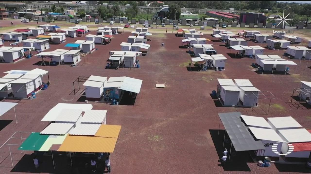 Reabren mercado de pirotecnia en Tultepec, San Pablito en Edomex