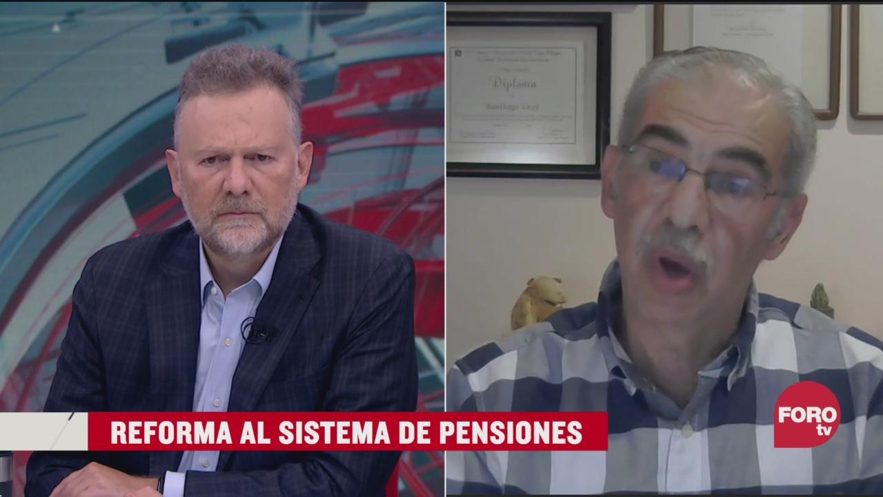 reforma al sistema de pensiones en mexico
