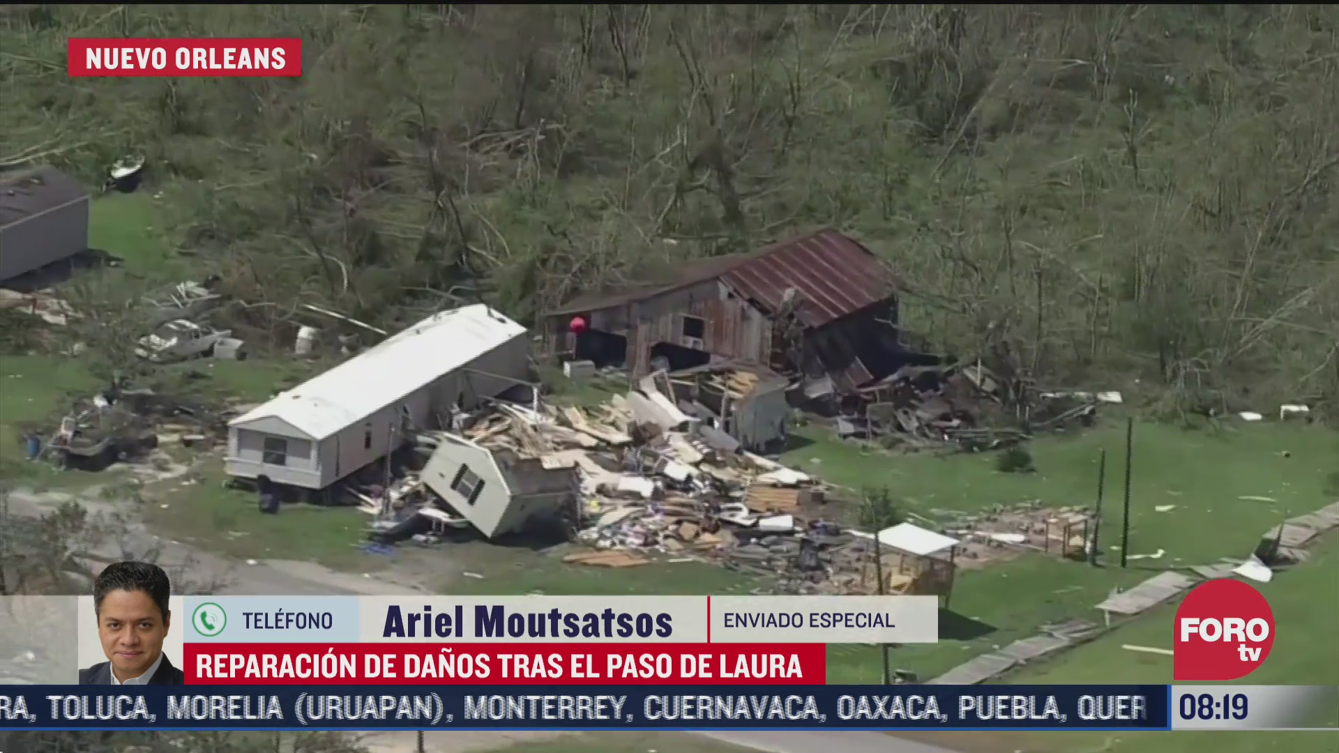 reparacion de danos en louisiana texas y arkansas tras paso de laura