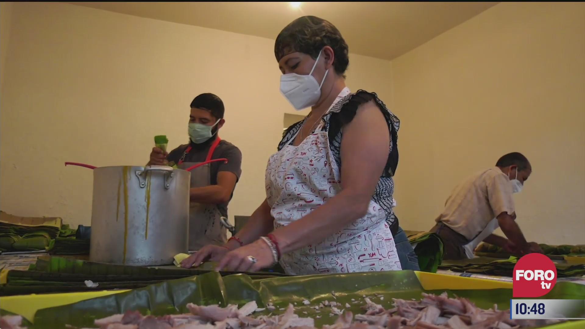 retratos de mexico preparacion de ricos tamales