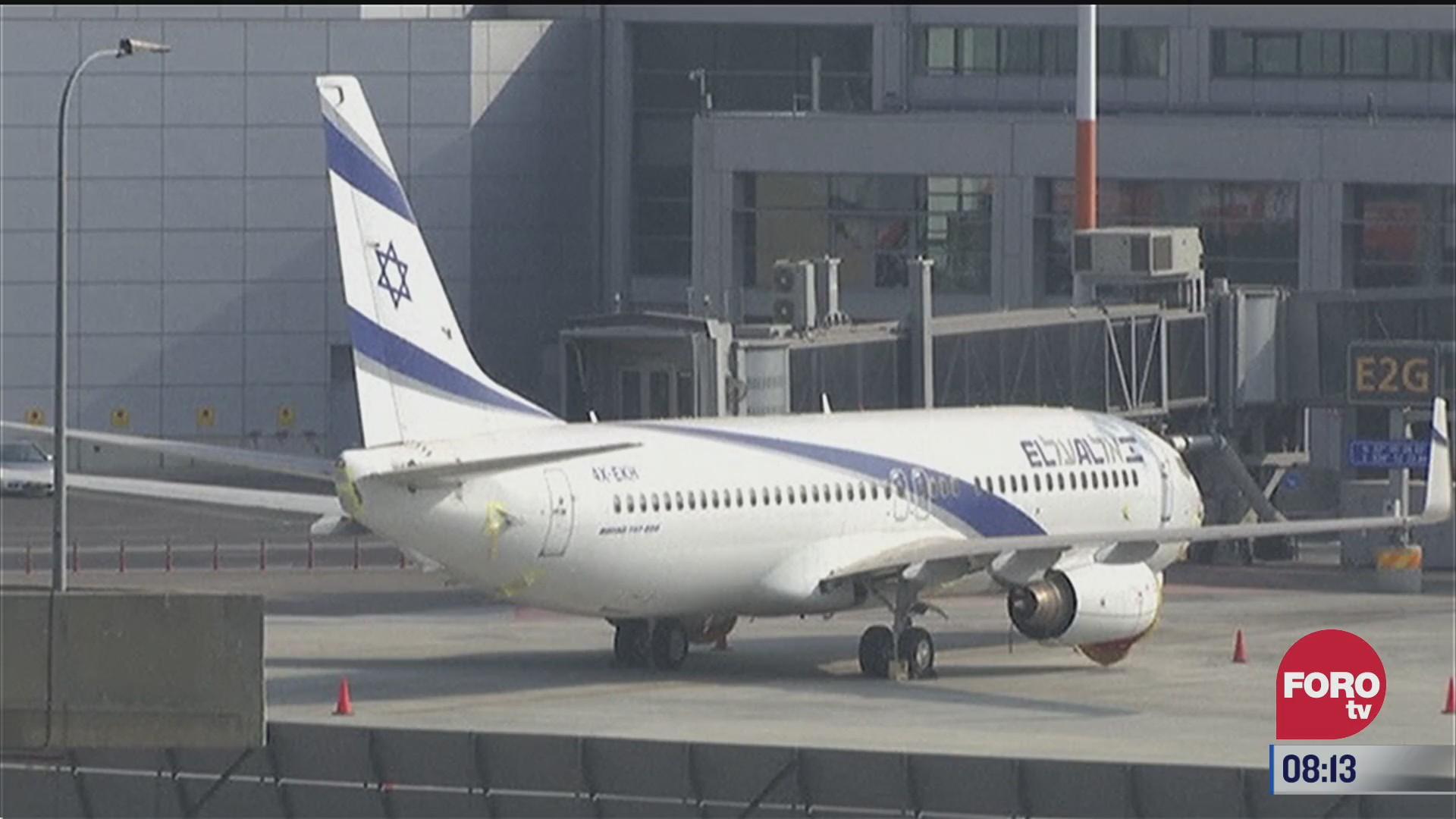 se realiza primer vuelo entre israel y emiratos arabes unidos