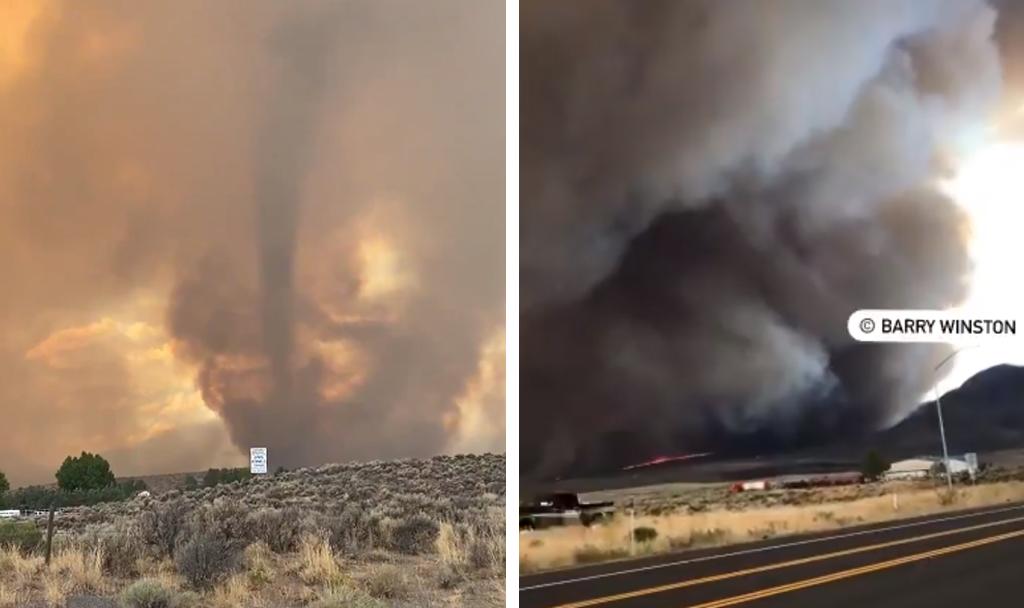 Tornado de fuego que es