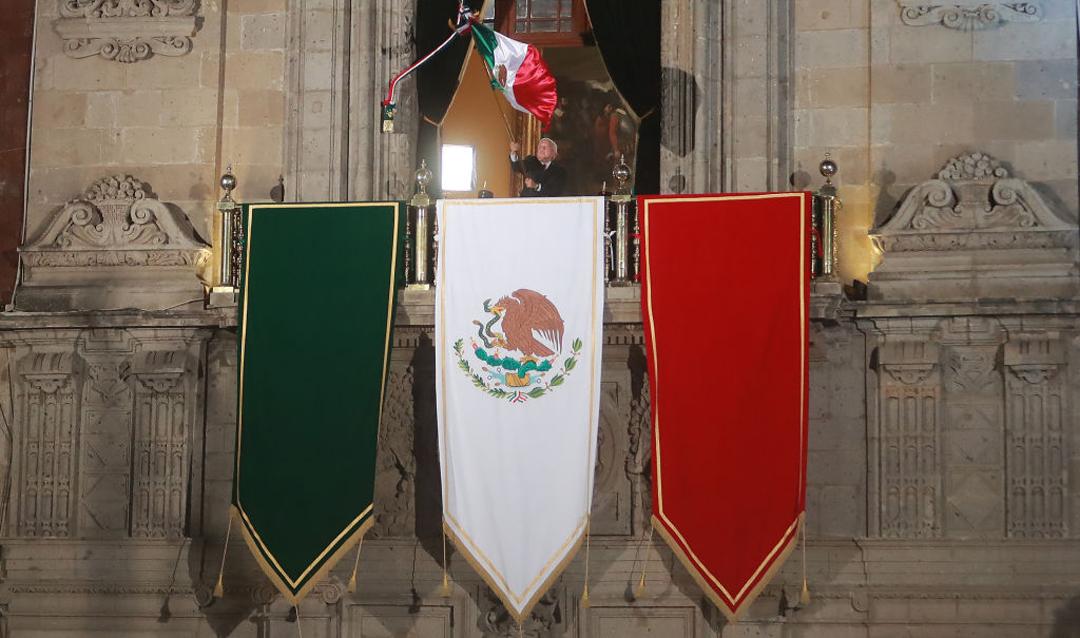 Grito de Independencia, ceremonia y hora