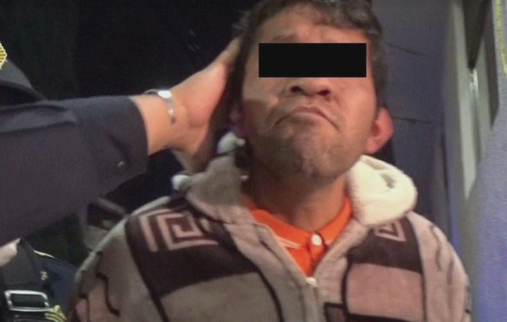 capturan a presunto violador serial en la alcaldia miguel hidalgo